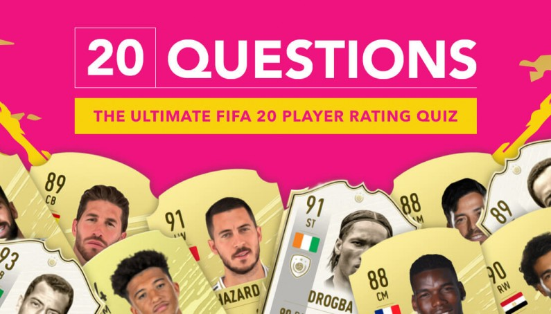 The Ultimate Fifa 20 Player Rating Quiz