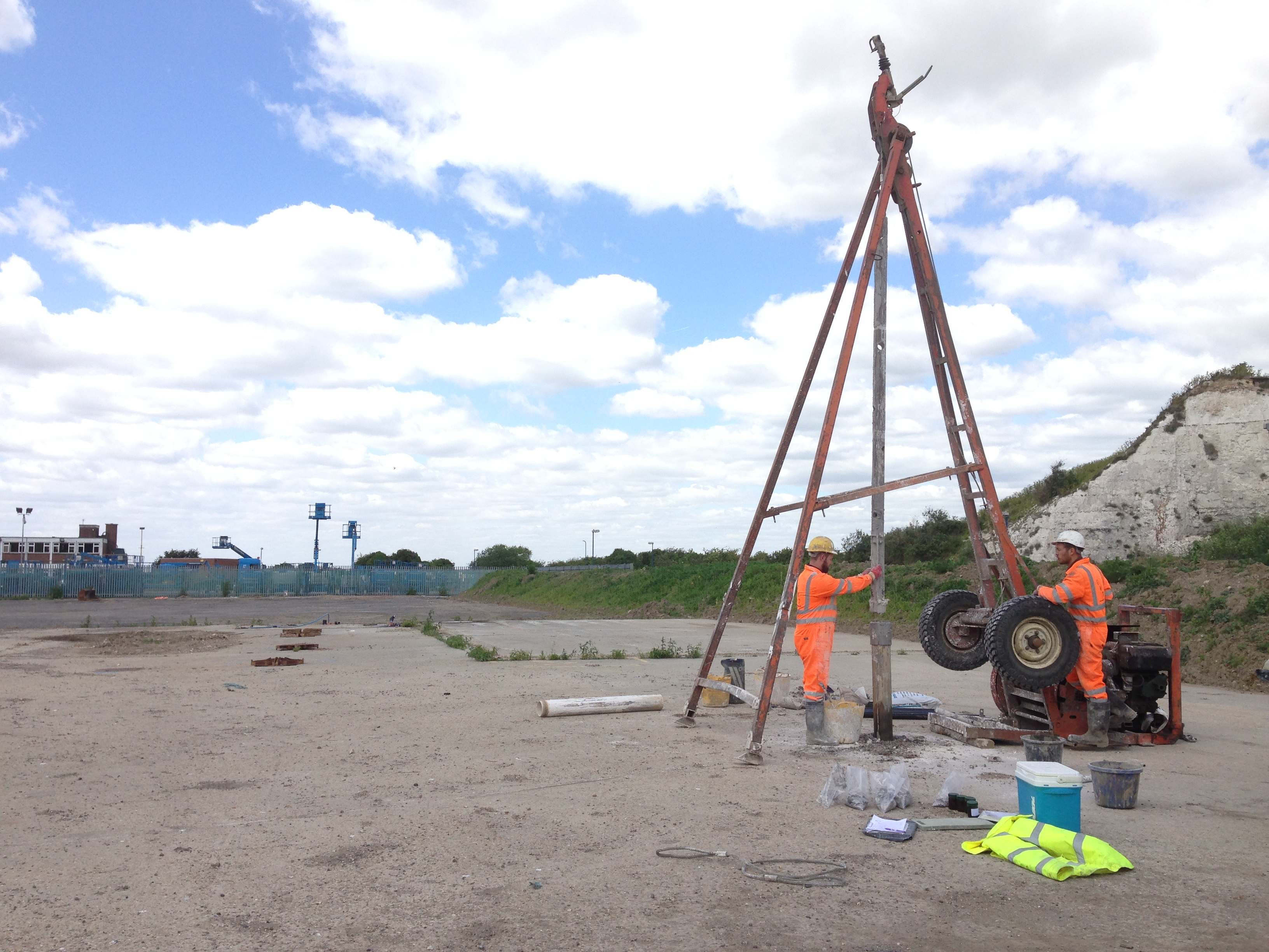 Geo environmental site investigation lustre consulting for Soil investigation report