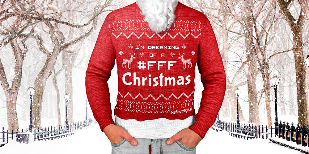 SEO christmas jumper