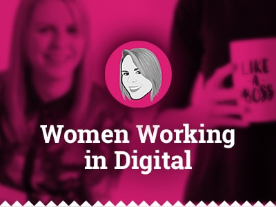 Women working in digital
