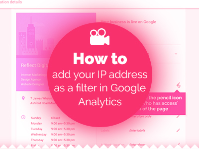 How to add your IP address as a filter in Google Analytics