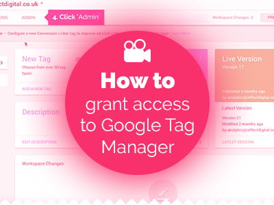 How to grant access to Google Tag Manager