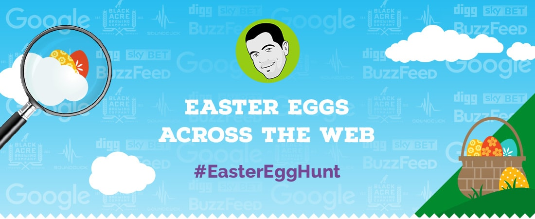 Hidden Easter eggs across the web