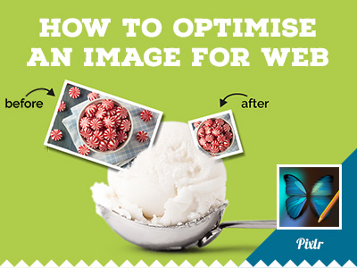How to optimise an image using Pixlr