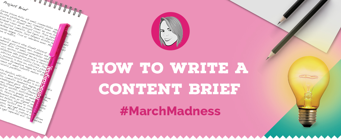 How to write a content brief