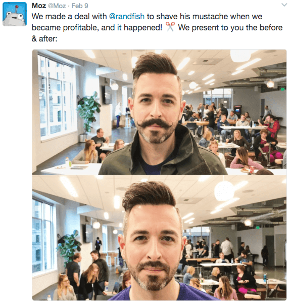 Rand Fishkin - Moustache, No Moustache
