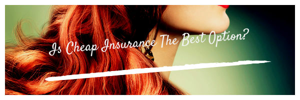 Is Cheap Insurance the Best Option?