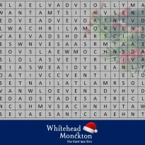2019 Christmas Word Search