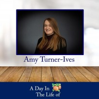A Day In The Life of Amy Turner-Ives