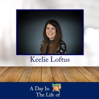 A Day In The Life of Keelie Loftus