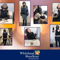 Age suit gives Whitehead Monckton staff an insight into the difficulties some older people face