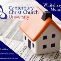 Whitehead Monckton Wins Contract for Canterbury Christ Church University Landlord and Tenant Portfolio Work