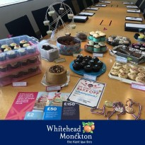 Whitehead Monckton supporting Alzheimer's Society Cupcake Day 2019