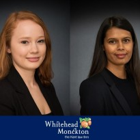 New Trainee's Join Whitehead Monckton in September 2019
