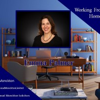 Working From Home With Emma Palmer