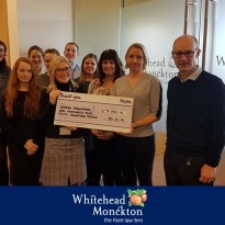 Total Raised for Charity of The Year 2018