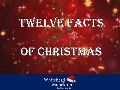 Facts About Christmas.Twelve Facts Of Christmas Whitehead Monckton