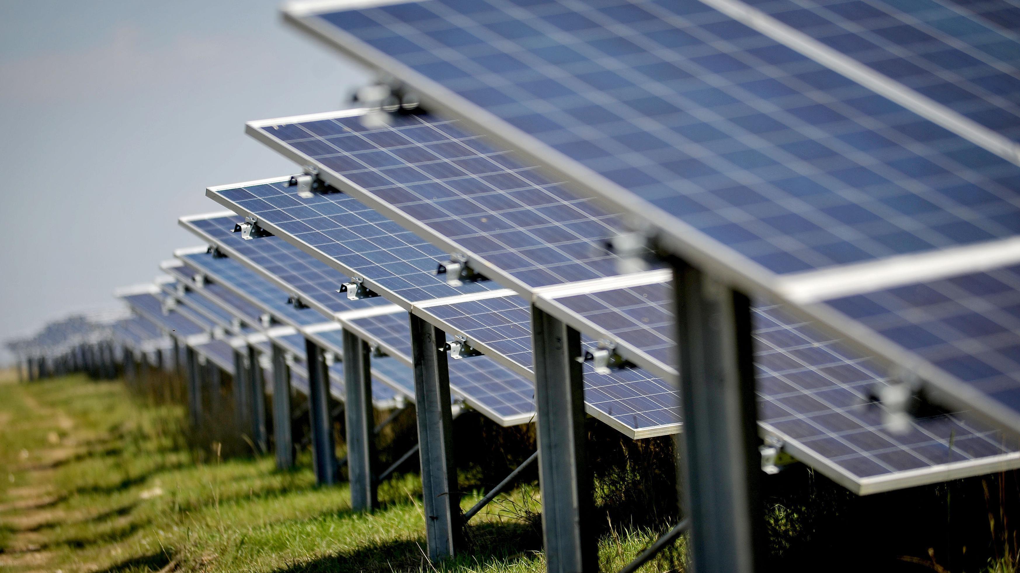 Britain's biggest solar farm