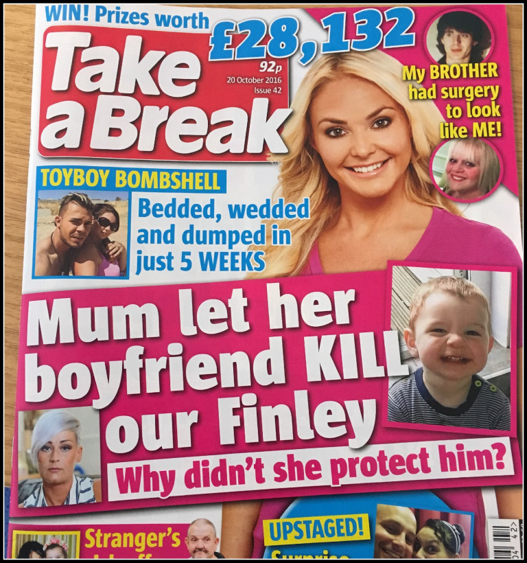 Image of Take a a break magazine