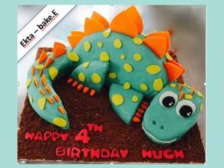 Dinosaur cake from Bake-e