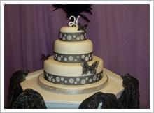 T I woods cake designs