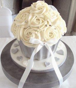 Giant cupcake from Sarahs Celebration cakes