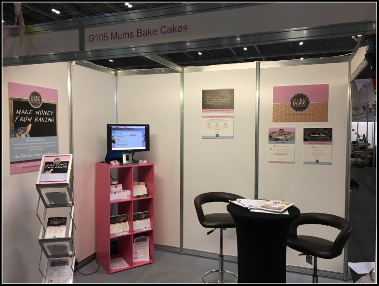 Image of Mums Bake Cakes stand