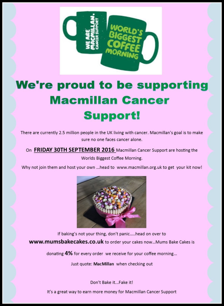 Poster of Macmillan Cancer Support