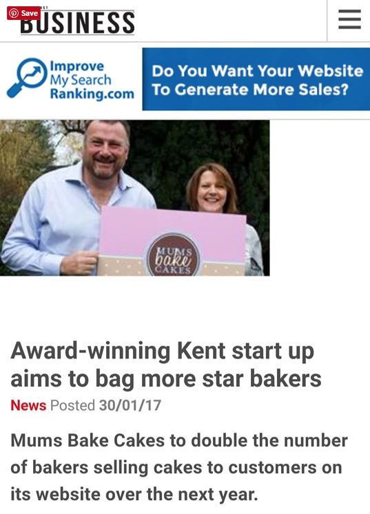 Paula and Richard appear in South East Business Magazine