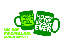 Logo for Macmillan coffee morning