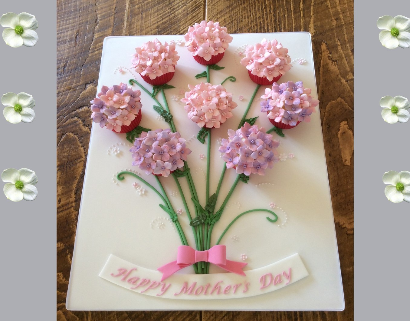 mothers day cupcake bouquet - a bouquet to look like flowers