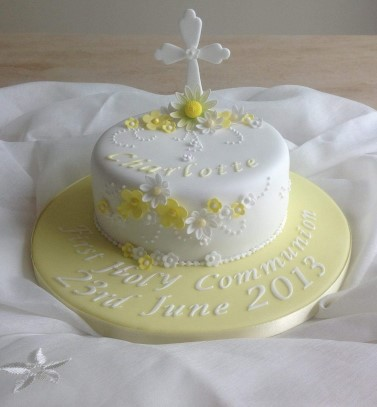 A First Holy Communion Cake