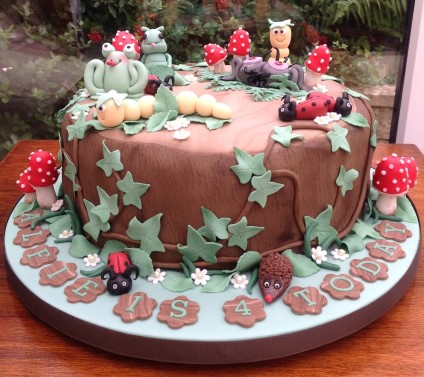 Bug Novelty Birthday Cake