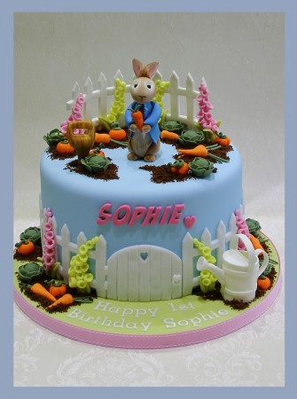 Peter Rabbit themed Cake