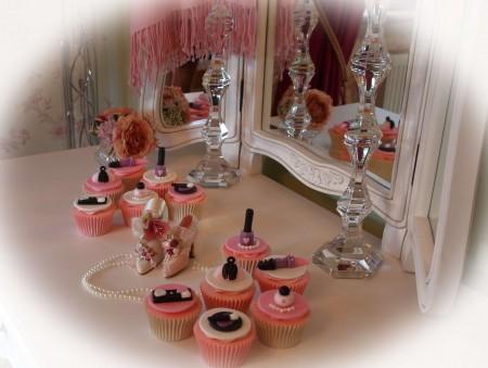 Beauty themed Cupcakes