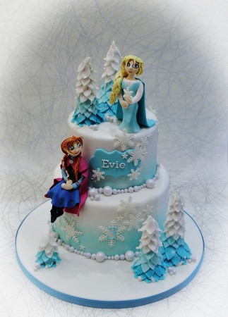 Bespoke cake designed to customer request