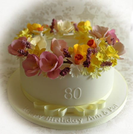 Any Occasion  Floral Cake
