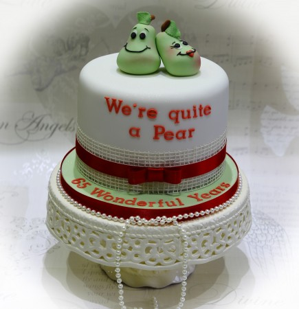Occasion Fruit  Cake- quite a pear!