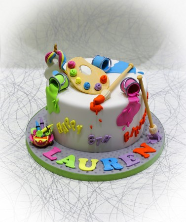 Arts & Craft Cake
