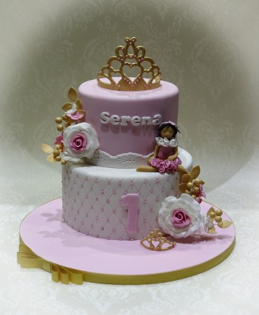 Tiara Princess Cake