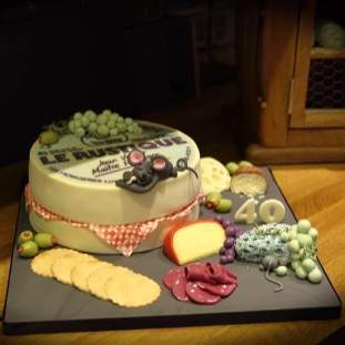 A Cheese Lovers Cake