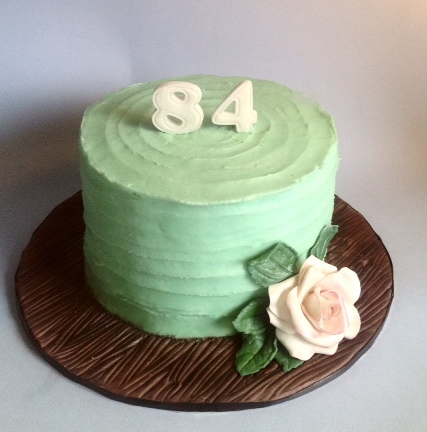 Buttercream Rustic Rose Cake