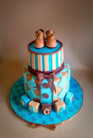 Baby or Christening Cake