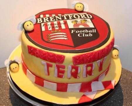 Football Club(of your choice) cake