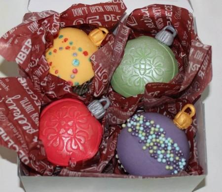 Christmas Baublecupcakes