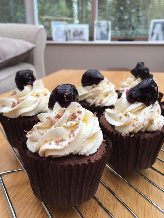 Black Forest Cupcakes