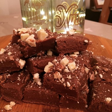Chocolate & Baileys Fudge