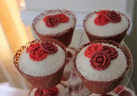 Luxury Roses Cupcakes