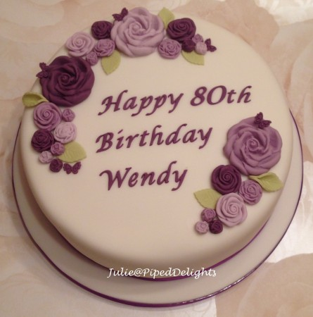Flower Celebration Vanilla Cake