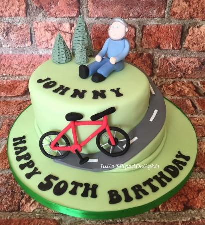 Cyclist Celebration Cake